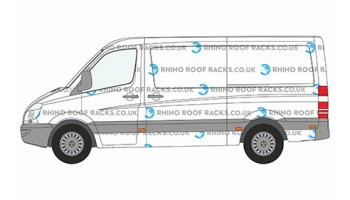 Sprinter MWB Low Roof Racks and Bars