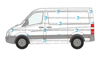 Sprinter SWB Low Roof Racks and Bars