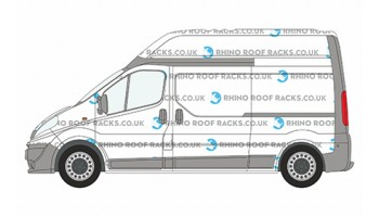 Trafic LWB High Roof Racks and Roof Bars