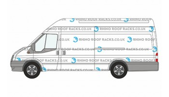 Transit XLWB JUMBO High Roof - Roof Racks and Bars