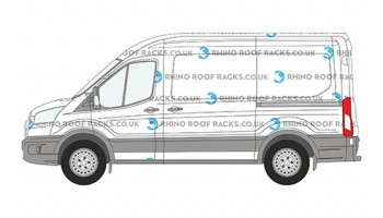 Transit MWB (L2) Medium Roof (H2) 2014 on