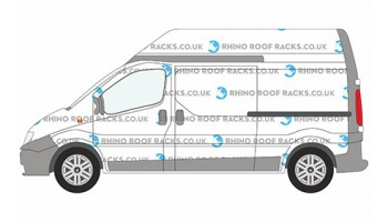 Vivaro LWB High Roof Racks and Roof Bars