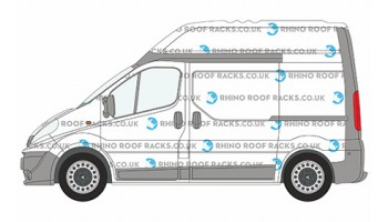 Vivaro SWB High Roof Racks and Bars