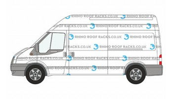Transit LWB High Roof - Roof Racks and Bars