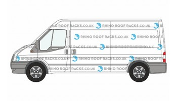 Transit MWB Low Roof - Roof Racks and Bars