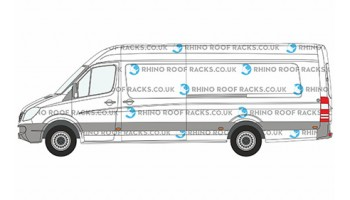 Sprinter ELWB High Roof Racks and Bars