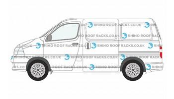 Toyota HiAce Roof Bars and Roof Racks