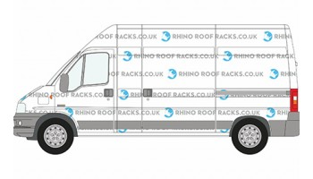 Boxer LWB High Roof Racks and Bars