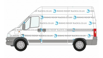 Boxer MWB High Roof Racks and Bars