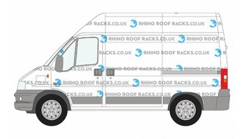 Boxer SWB High Roof Racks and Bars