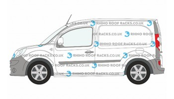 Kangoo ML Roof Bars and Roof Racks