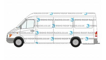 Sprinter LWB High Roof Racks and Bars