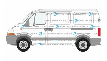 Master SWB Low Roof Racks and Bars