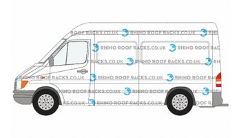 Sprinter MWB High Roof Racks and Roof Bars