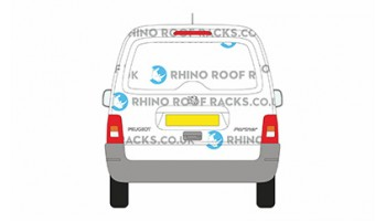 Partner Original Tailgate Door - Roof Racks and Bars
