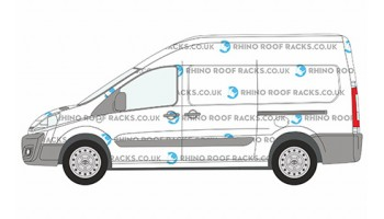 Roof Racks and Roof Bars for ProAce LWB High Roof