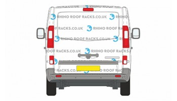 Nissan NV300 SWB Roof Bars