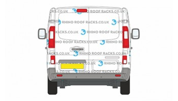 NV300 SWB Low Roof Twin Doors