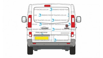 Talento SWB Low Roof Twin Doors - Roof Racks