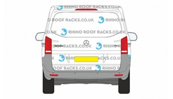Roof  Racks - Roof Bars - Vito XLWB 2015 on