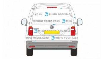 Caddy SWB  Tailgate Door - Roof Racks