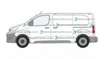 Peugeot Expert Standard Roof Racks - Roof Bars