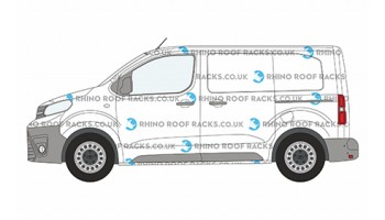 Citroen Dispatch MWB Twin Doors - Roof Racks