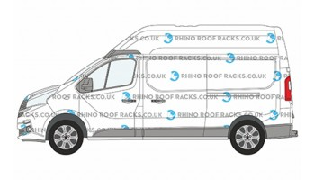 Talento LWB High Roof - Roof Racks