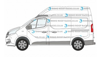 Nissan NV300 SWB High Roof  - Roof Racks