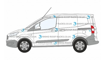 Ford Transit Courier Roof Racks and Roof Bars