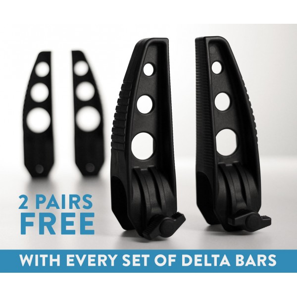 2 Pair Free Delta load Stops
