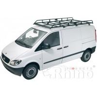 Rhino Modular Roof Rack - Vito 2003 - 2014 LWB Low Roof Tailgate