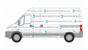 Relay LWB High Roof - Rhino Roof Racks and Bars