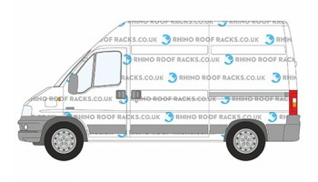Relay MWB High Roof Rhino Roof Racks and Bars