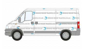 Relay MWB Low Roof Rhino Roof Racks and Bars