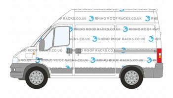 Relay SWB High Roof Rhino Racks and Bars