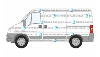 Citroen Relay Van Rhino Roof Racks and Roof Bars