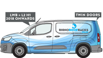 Citroen Berlingo LWB Twin Doors 2019 on