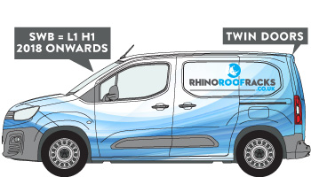 Citroen Berlingo SWB Twin Doors 2019 on