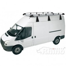 Rhino Aluminium Roof Rack - Transit 2000 - 2014 SWB Medium High Roof