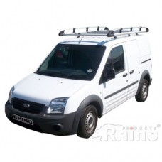 Rhino Aluminium Roof Rack - Transit Connect 2002 - 2014 LWB Twin Doors