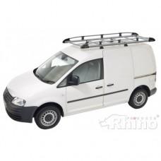 Rhino Aluminium Roof Rack - Caddy 2004 - 2010 SWB Twin Doors