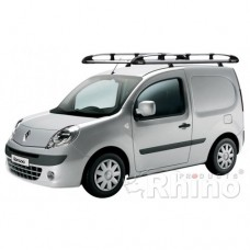 Rhino Aluminium Roof Rack - Kangoo 2008 on Maxi Twin Doors