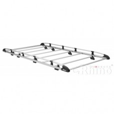 Rhino Aluminium Roof Rack - Caddy 2010 GP on Maxi Twin Doors