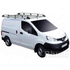 Rhino Aluminium Roof Rack - NV200 2009 on SWB Tailgate