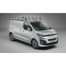 Rhino Aluminium Roof Rack - Vivaro May 2019 on LWB Tailgate