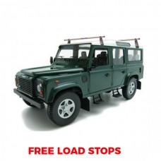 2 x Rhino Delta Roof Bars - Land Rover Defender 90