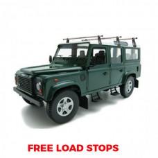 3 x Rhino Delta Roof Bars - Land Rover Defender 90
