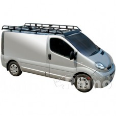 Rhino Modular Roof Rack - Vivaro 2002 - 2014 SWB Low Roof Twin Doors
