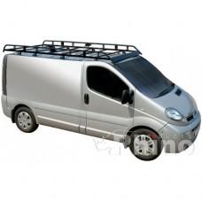 Rhino Modular Roof Rack - Trafic 2002 - 2014 SWB Low Roof Tailgate